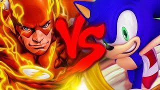 Flash VS. Sonic | Duelo de Titãs
