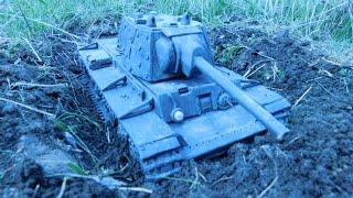 Танк из пластилина, Кв 1 Подвиг Колобанова