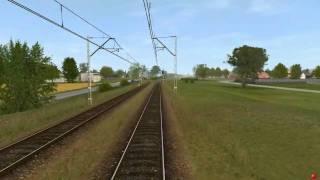 preview picture of video 'Kalety-Strzebiń w Trainz'