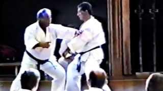 Sensei Taiji Kase. Karate.