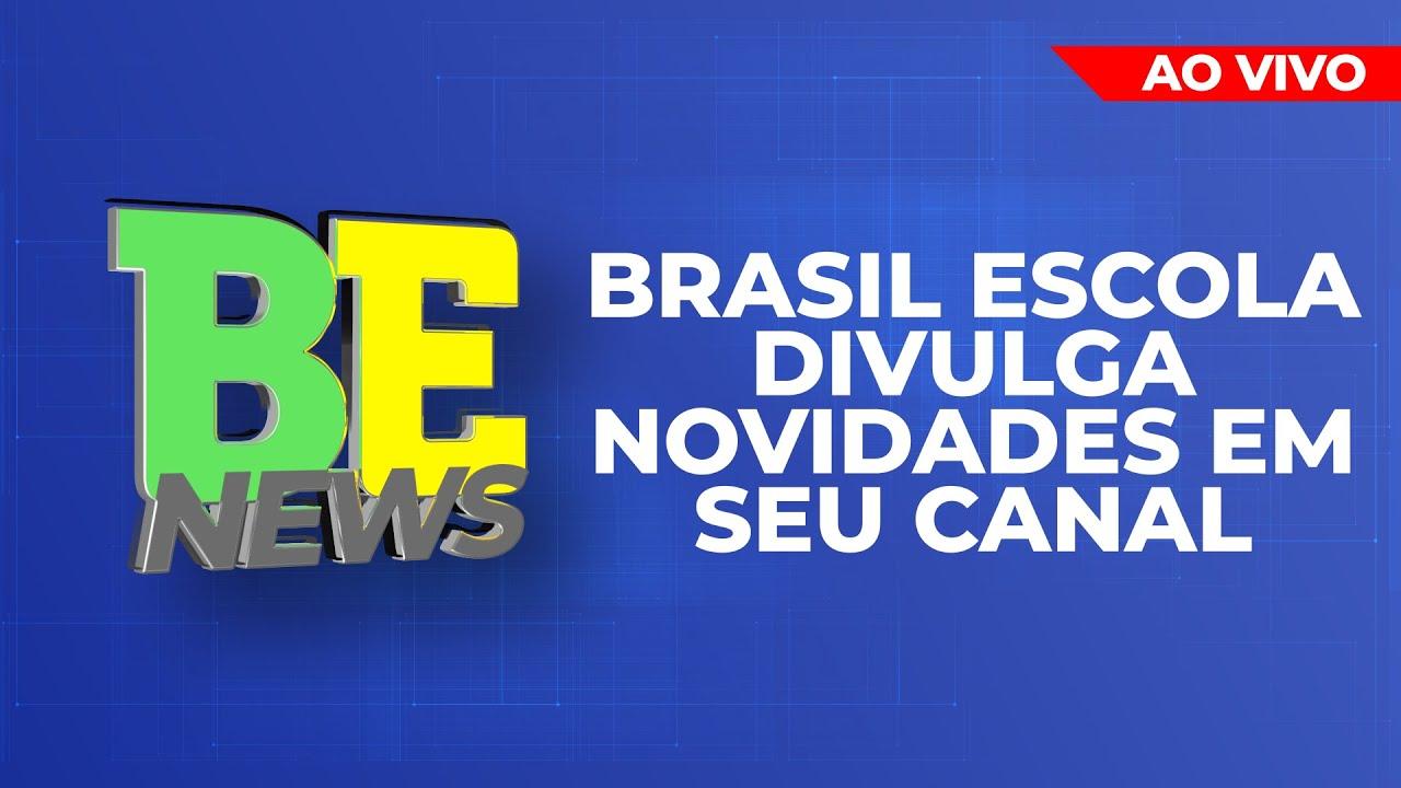 Brasil Escola anuncia aulas AO VIVO!