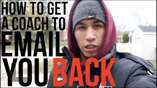 How To Get A College Soccer Coach To Email You Back!