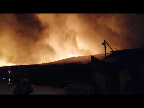 Пожар в здании. 3 номер. 11.02.2019