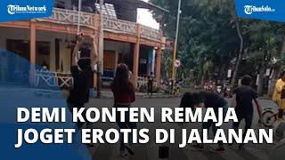 Demi Konten TikTok, 5 Remaja Dipanggil Polisi karena Joget Erotis di Zebra Cross