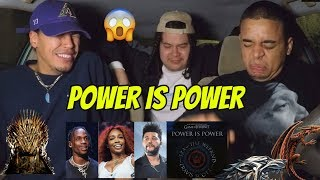 THE WEEKND, TRAVIS SCOTT, SZA   Power Is Power (from Game Of Thrones) REACTION REVIEW