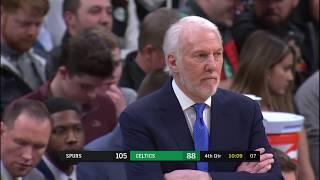 Lonnie Walker IV Full Play vs Boston Celtics | 01/08/20 | Smart Highlights