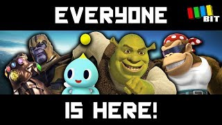 EVERYONE IS HERE! The ULTIMATE Super Smash Bros. Mod [TetraBitGaming]