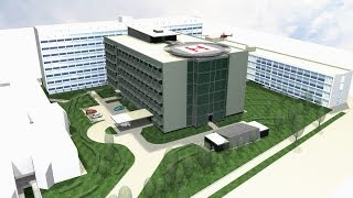 preview picture of video 'Výstavba Urgentného príjmu UNLP Košice 2012 - 2014'