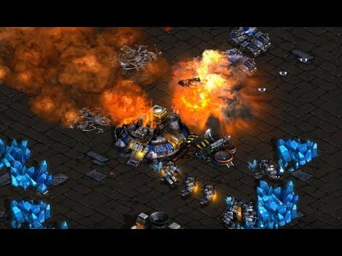 Hero (Z) v Mong (T) on Circuit Breakers - StarCraft  - Brood War REMASTERED 2019