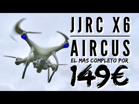 JJRC X6 AIRCUS: de lo mejor por debajo de los 150€