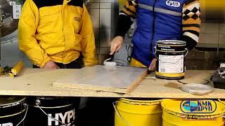 Мастика Hyperfloor 2K Grey 20 кг от компании КМК Груп - видео