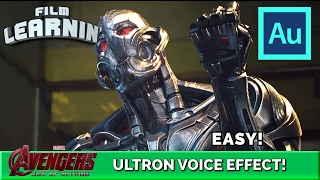Ultron Voice Effect Adobe Audition Tutorial! | Film Learnin