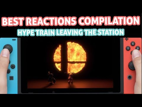 Smash Bros. Switch BEST REACTIONS COMPILATION - SMASH 5 Announcement