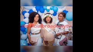 Toke Makinwa, Ini Edo, Annie Idibia, Faithia Williams And Others Grace Toyin Abraham's Baby Shower