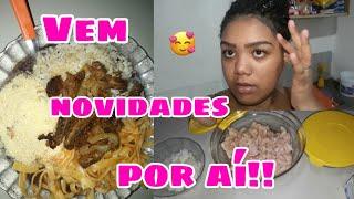 Vlog: 4 Dias Comigo, fazendo almoço e mais.. ❤