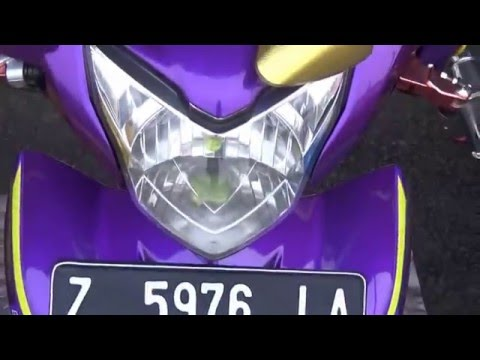 Video Jupiter MX Modifikasi Fashion daily