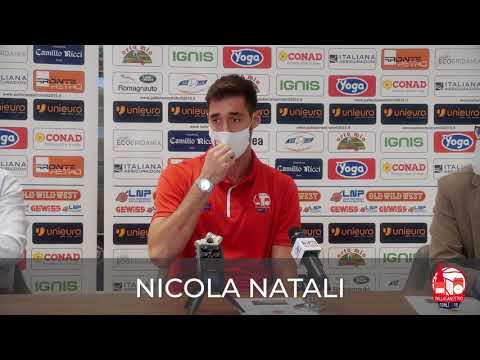 La presentazione di Nicola Natali