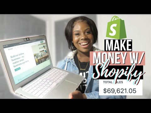 HOW TO CREATE AN ONLINE STORE USING SHOPIFY *DETAILED SHOPIFY TUTORIAL*