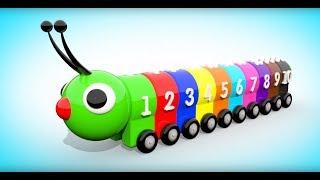 Учимся Считать  Цифры для малышей от 1 до 10  Детские песенки для малышей