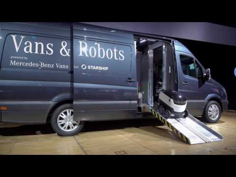 Video bij: Daimler investeert in Robovan van Starship