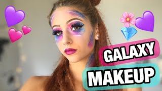 GALAXY MAKEUP TUTORIAL || Samantha Frison