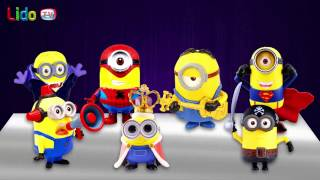 Surprise Eggs Minions Toys | Learn Colors | LIDO TV Surprise For Kids