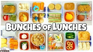 FALL Themed SCHOOL Lunch Ideas for JK, 1st grader, 3rd grader 🍁 What They DIDN'T Eat