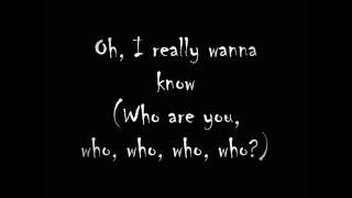 The Who - Who Are You Lyrics (On screen)