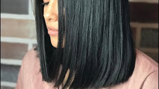 Tutorial Blunt Haircut ( Zero Degree) - Love Peace & Happiness The Hair Guru