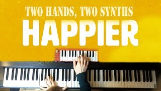 Marshmello Ft. Bastille   Happier   (Piano & Synth Loop)