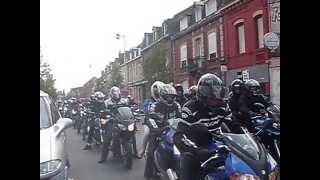 preview picture of video 'Bénédiction des motards 2014 Béthune mis en ligne par vévé'