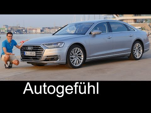 Audi A8 documentary - FULL REVIEW A8L 55 TFSI 3.0 all-new 2018 neu - Autogefühl