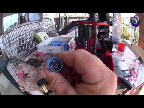 Снаряжение патронов и обзор станка MEC 9000.  Equipment cartridges and review MEC 9000 machine