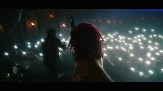Trippie Redd Falls Live Recovers With A Stage Dive!