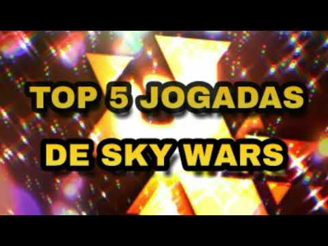TOP 5 MITADAS DE YOUTUBERS NO SKY WARS (Minecraft)
