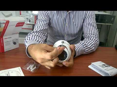 Cámara de Seguridad Hikvision Domo Antivandalica IP66