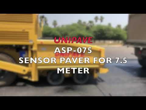 Sensor Paver Finisher