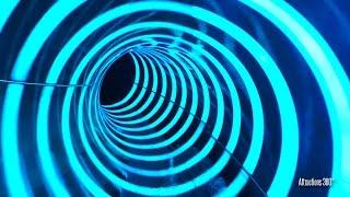 Point Panic Water Slide POV - Unique Lighting features Water Slide - Cowabunga Bay Las Vegas