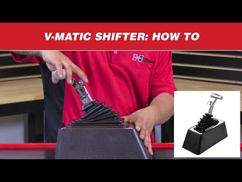 How to Shift a Hurst V-Matic Shifter