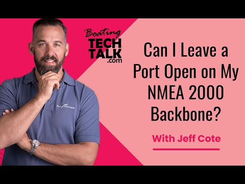 Ask PYS - Can I Leave a Port Open on My NMEA 2000 Backbone?
