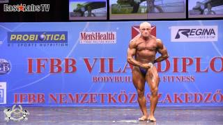 2012 World Championships BUDAPEST   master bodybuilding 50 59y up to 80kg