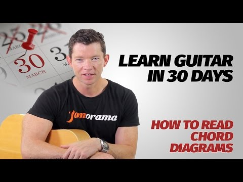 How To Read Chord Diagrams | Learn Guitar In 30 Days | Week 1 - Lesson 4