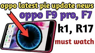 Oppo f9 Pro Color Os 6 Is launched Final Video new Version detected