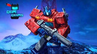 WAR FOR CYBERTRON (and Halo) - Grim Grams Podcast