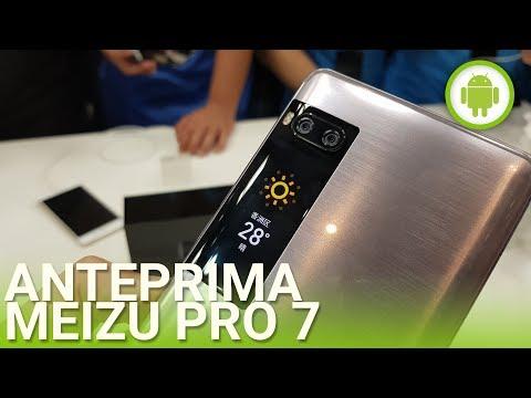 Meizu Pro 7, anteprima in italiano