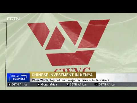Chinese Investment in Kenya: Companies build major factories outside Nairobi