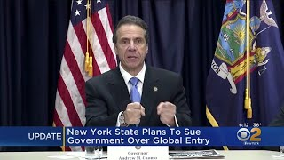 New York State To Sue Federal Government Over Global Entry