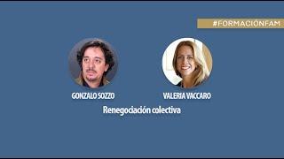 Renegociación colectiva. Gonzalo Sozzo y Valeria Vaccaro