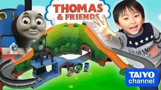 トーマストミカ ビッグマウンテンとクランキーで遊んでみた! THOMAS Big Mountain