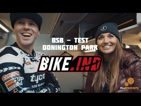 British Superbike Test Day - with Joanna Benz